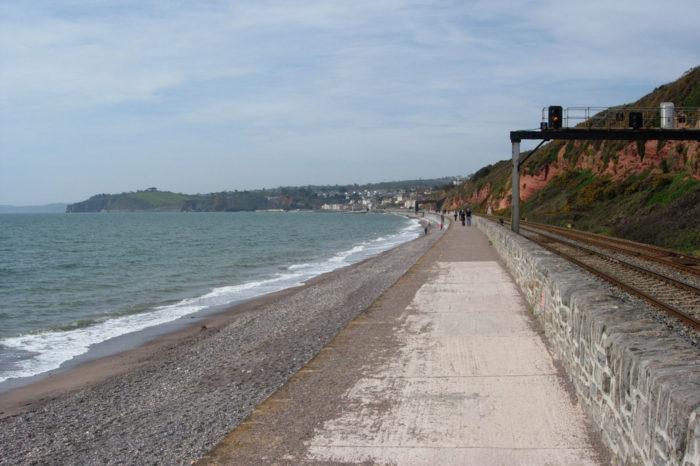 Sea Wall - Dawlish to Teignmouth